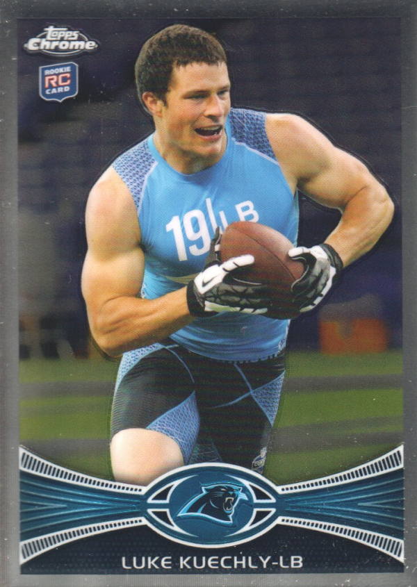 2012 Topps Chrome #45 Luke Kuechly RC
