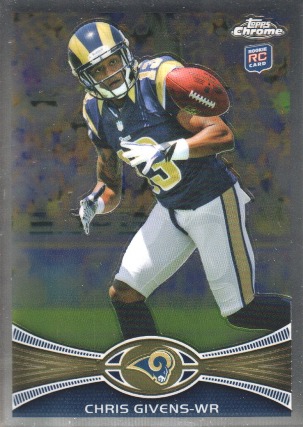 2012 Topps Chrome #142 Chris Givens RC