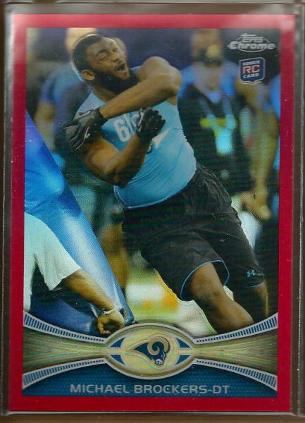 2012 Topps Chrome Red Refractors #57 Michael Brockers