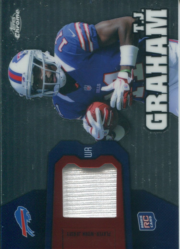 2012 Topps Chrome Rookie Relics #RR32 T.J. Graham