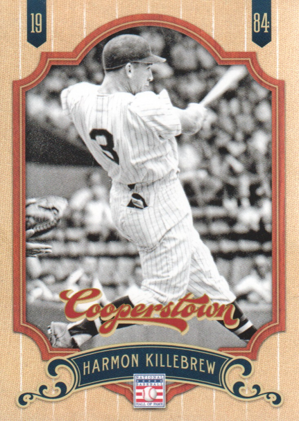 2012 Panini Cooperstown #139 Harmon Killebrew