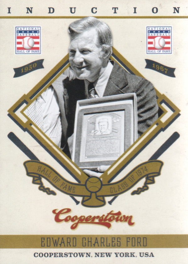 2012 Panini Cooperstown Induction #8 Whitey Ford
