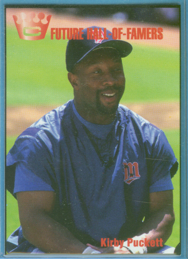 1993 Cartwright's Future Hall of Famers Card #4 Kirby Puckett