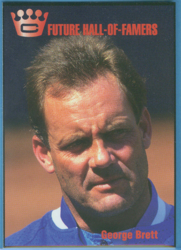 1993 Cartwright's Future Hall of Famers #2 George Brett