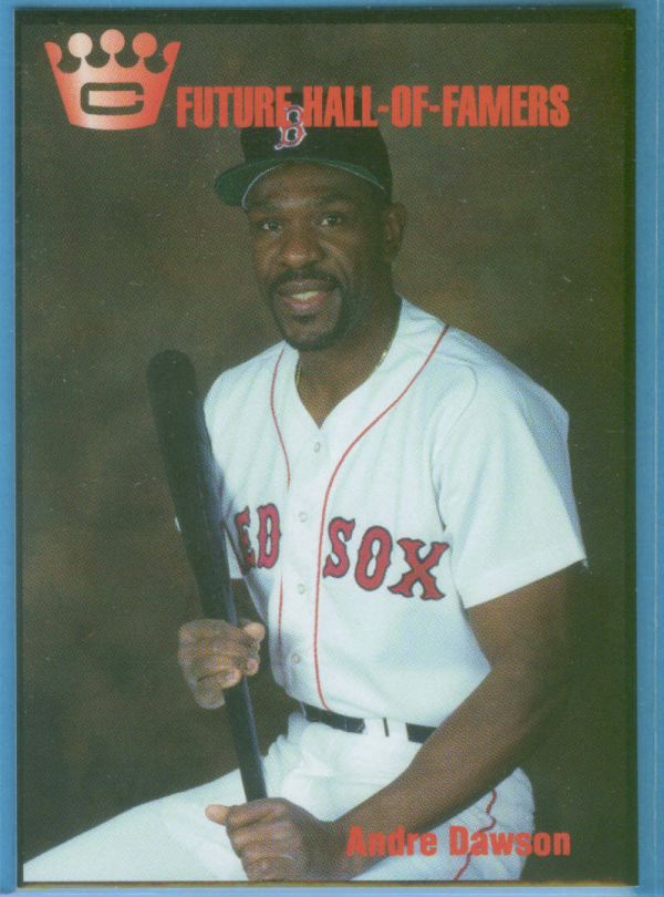 1993 Cartwright's Future Hall of Famer Card #9 Andre Dawson