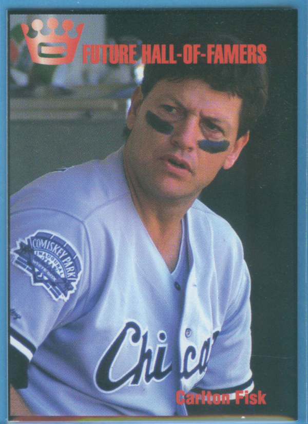 1993 Cartwright's Future Hall of Famer Card #8 Carlton Fisk