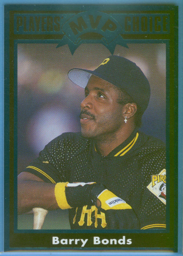 1992 Cartwright's Limited Edition Teal Card #8 Barry Bonds