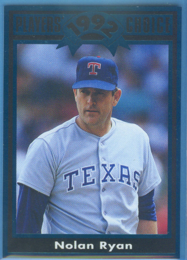1992 Cartwright's Teal Card #43 Nolan Ryan