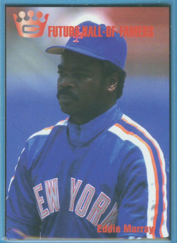 1993 Cartwright's Future Hall of Famer Card #5 Eddie Murray