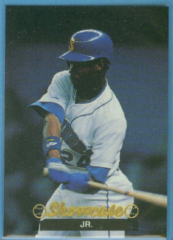 1991 Showcase Price Guide Trading Card #24 Ken Griffey Jr. (#/10,000)