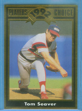 1992 Cartwright's Gold Foil Card #24 Tom Seaver