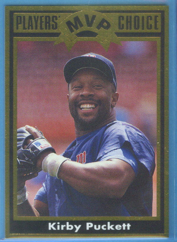 1992 Cartwright's Gold Card #7 Kirby Puckett