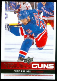 2012-13 Upper Deck #237 Chris Kreider YG RC