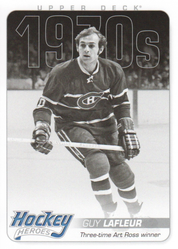 2012-13 Upper Deck Hockey Heroes #HH33 Guy Lafleur