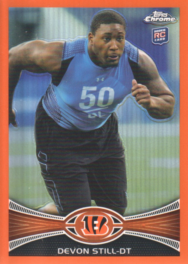 2012 Topps Chrome Orange Refractors #3 Devon Still