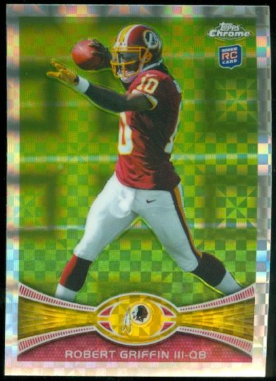 2012 Topps Chrome Xfractors #200 Robert Griffin III