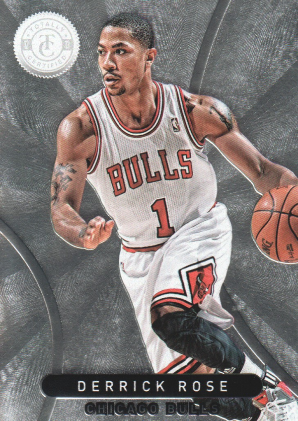 2012-13 Totally Certified #172 Derrick Rose