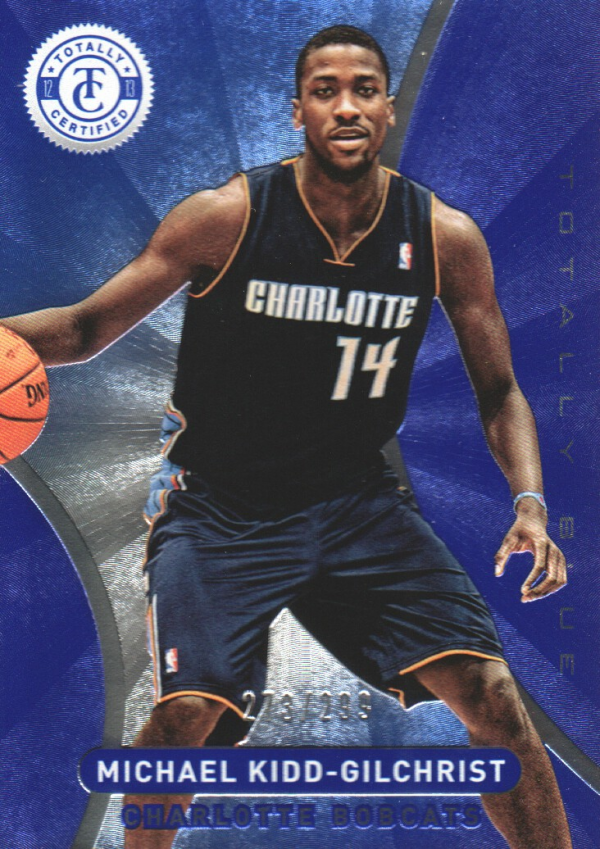 2012-13 Totally Certified Blue #16 Michael Kidd-Gilchrist