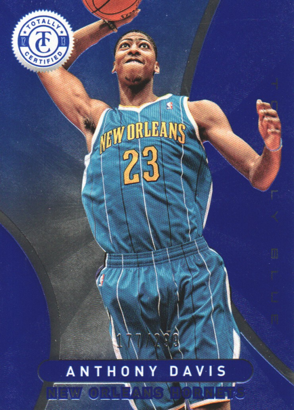 2012-13 Totally Certified Blue #29 Anthony Davis