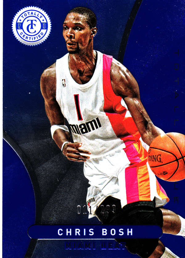 2012-13 Totally Certified Blue #30 Chris Bosh
