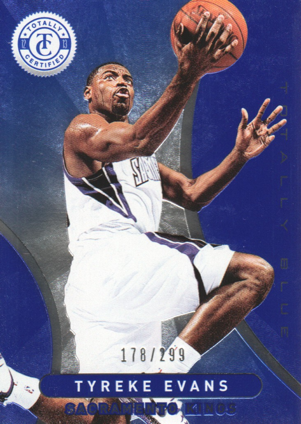 2012-13 Totally Certified Blue #62 Tyreke Evans