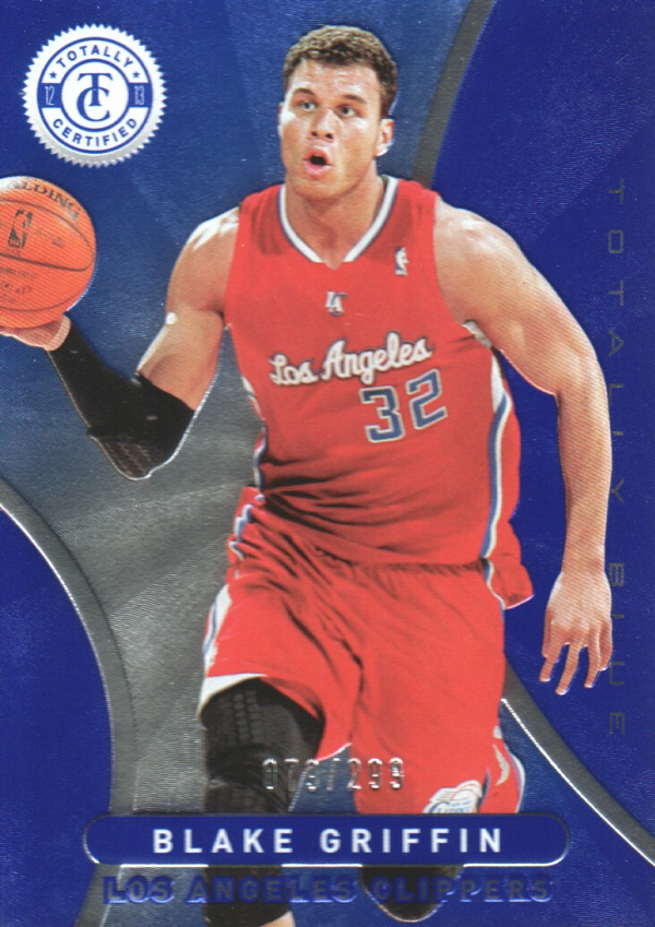2012-13 Totally Certified Blue #87 Blake Griffin