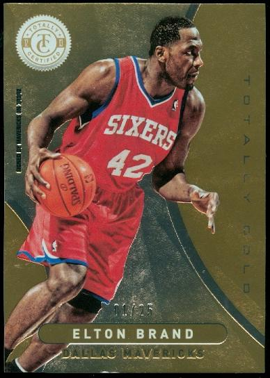 2012-13 Totally Certified Gold #32 Elton Brand