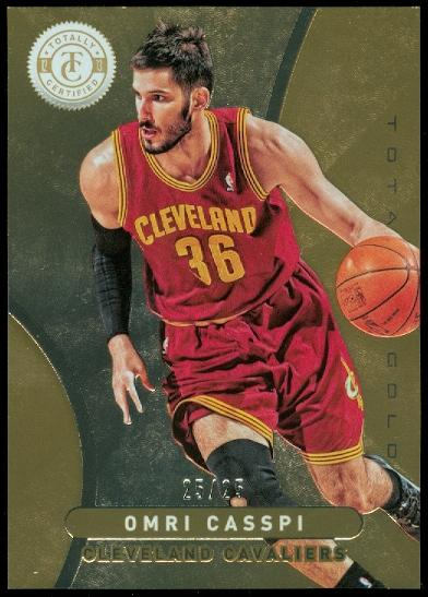 2012-13 Totally Certified Gold #41 Omri Casspi