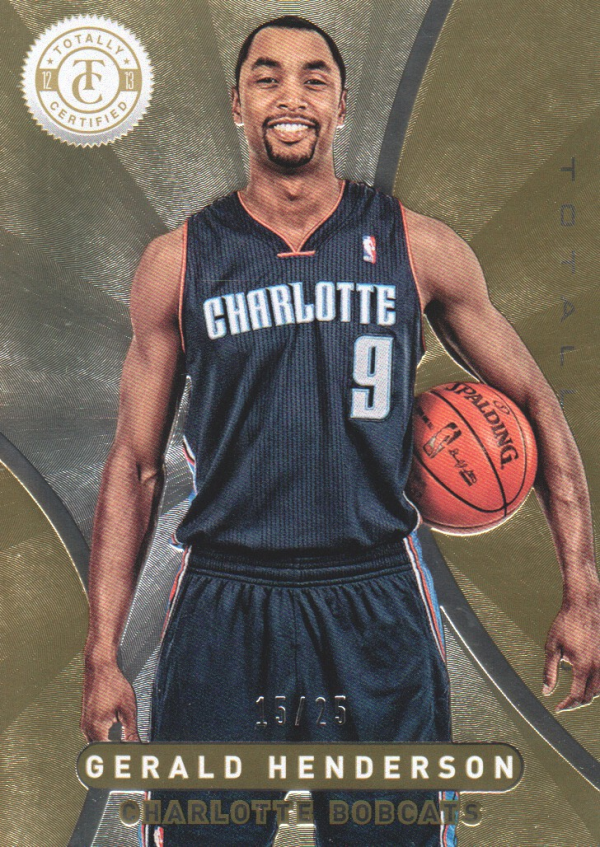 2012-13 Totally Certified Gold #97 Gerald Henderson