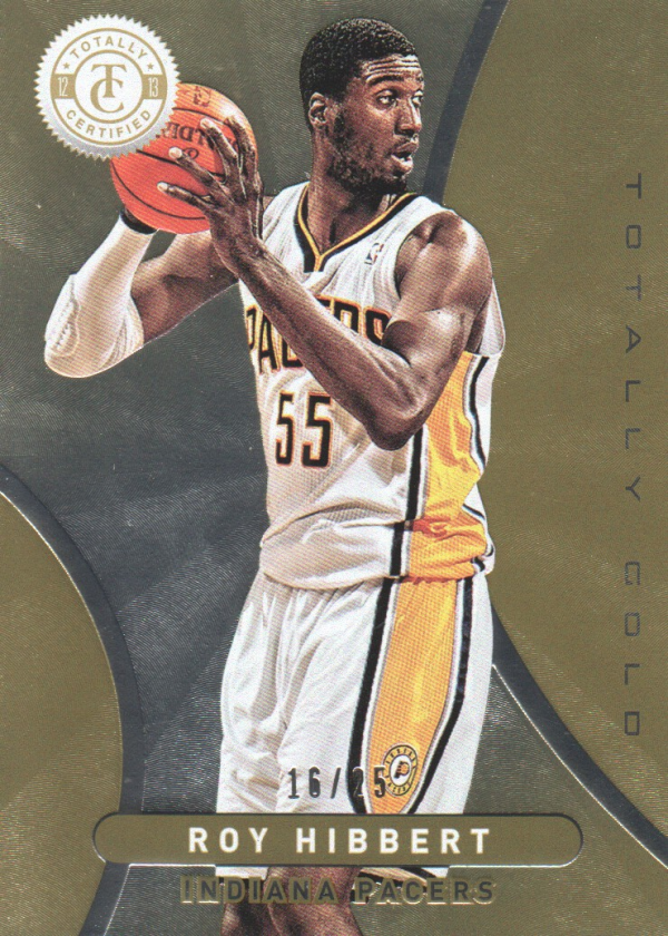 2012-13 Totally Certified Gold #99 Roy Hibbert