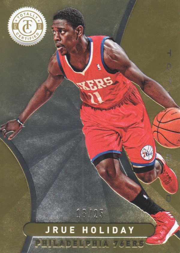 2012-13 Totally Certified Gold #104 Jrue Holiday
