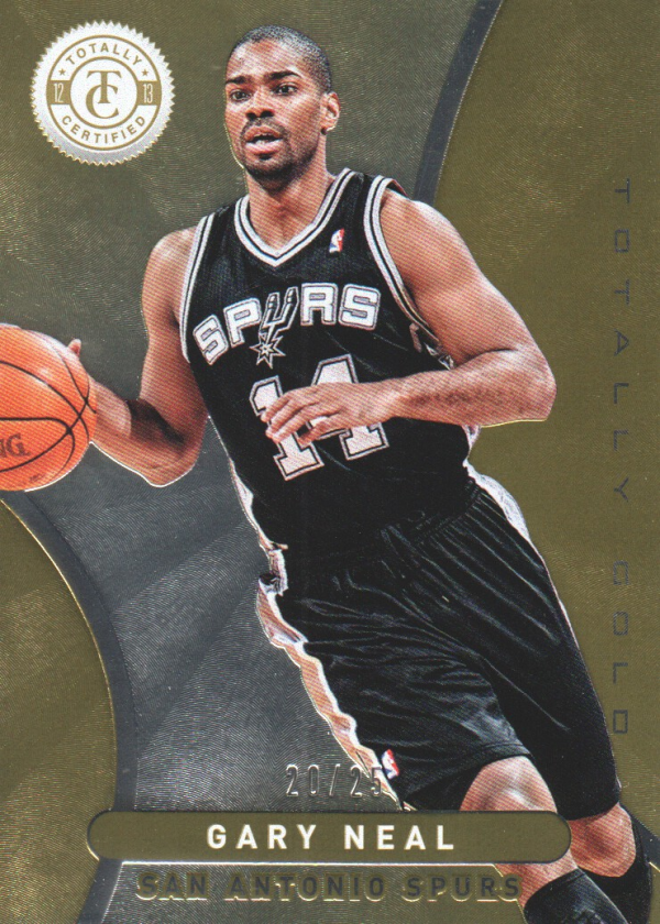 2012-13 Totally Certified Gold #152 Gary Neal