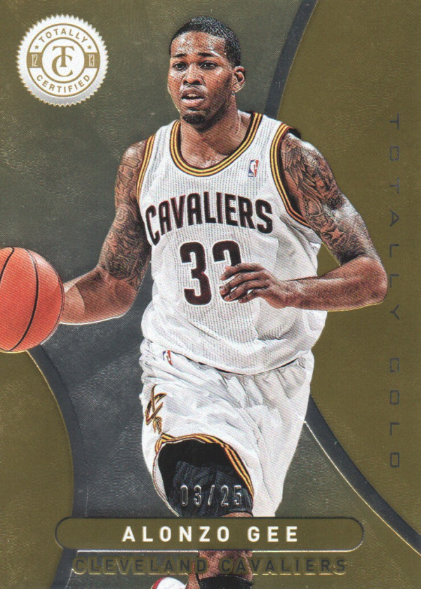 2012-13 Totally Certified Gold #177 Alonzo Gee
