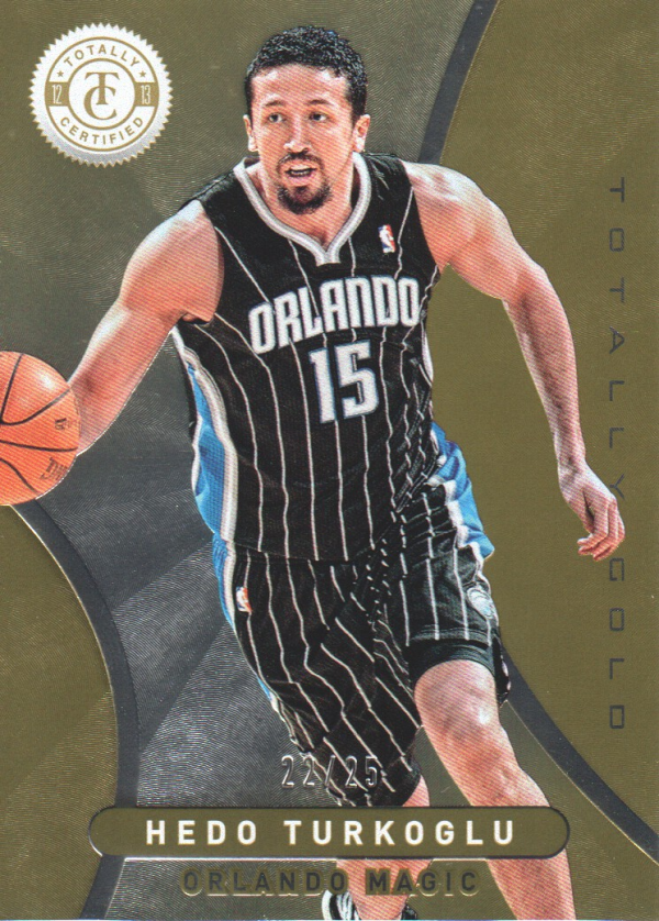 2012-13 Totally Certified Gold #189 Hedo Turkoglu