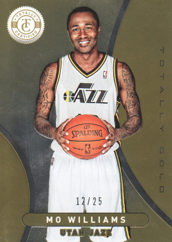 2012-13 Totally Certified Gold #203 Mo Williams