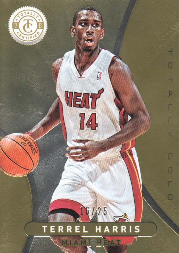 2012-13 Totally Certified Gold #248 Terrel Harris
