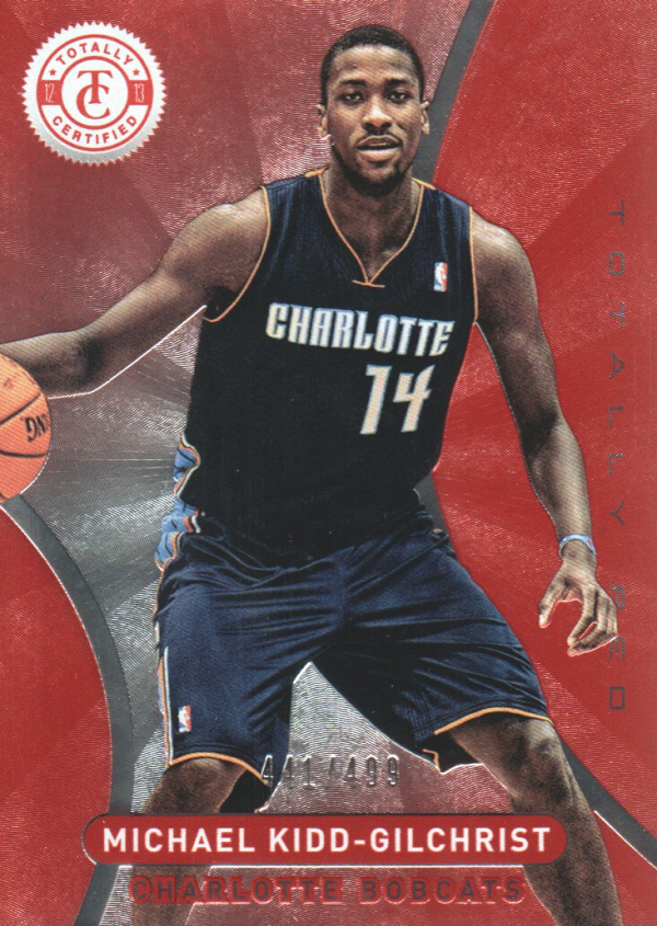 2012-13 Totally Certified Red #16 Michael Kidd-Gilchrist