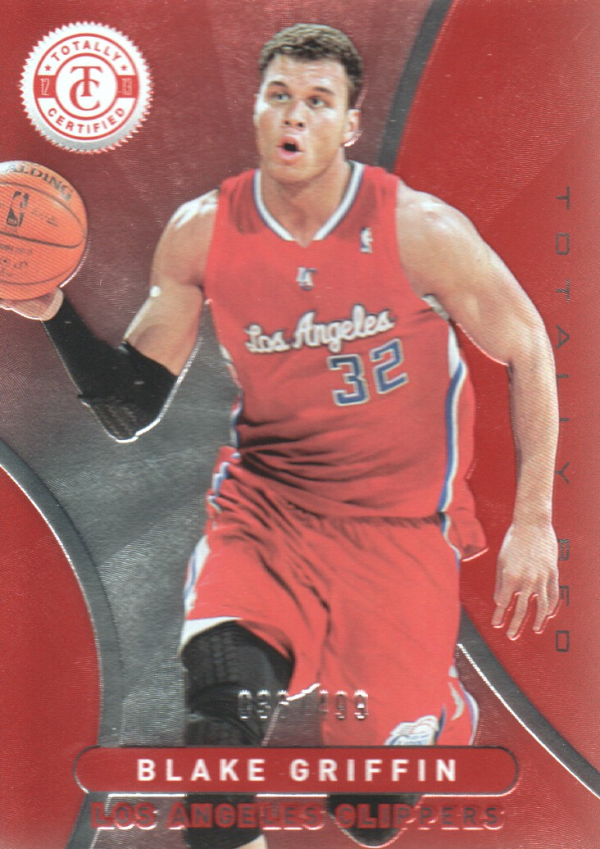 2012-13 Totally Certified Red #87 Blake Griffin