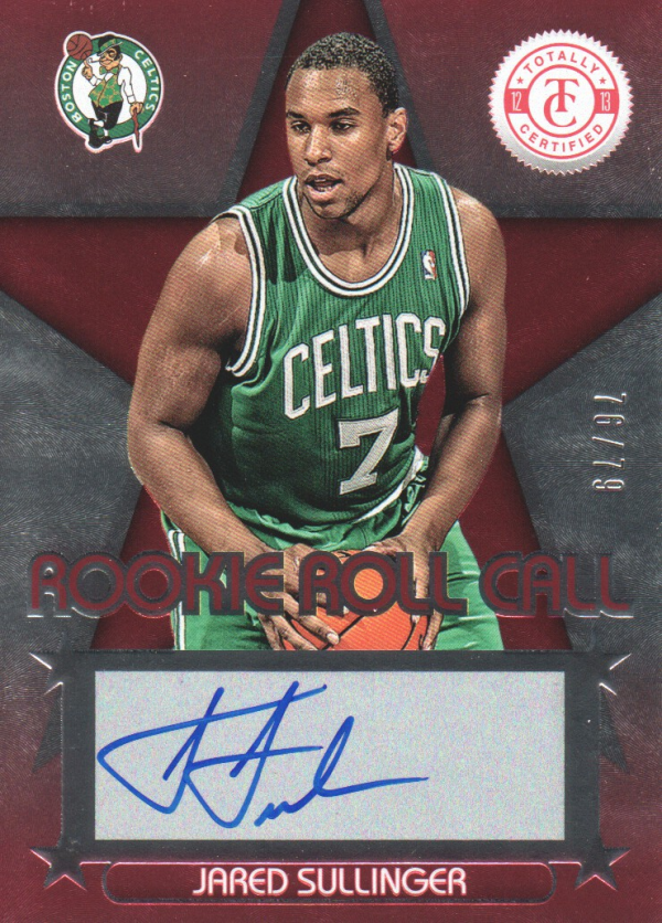 2012-13 Totally Certified Rookie Roll Call Autographs Red #31 Jared Sullinger/79