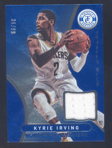 2012-13 Totally Certified Blue Materials #30 Kyrie Irving/99