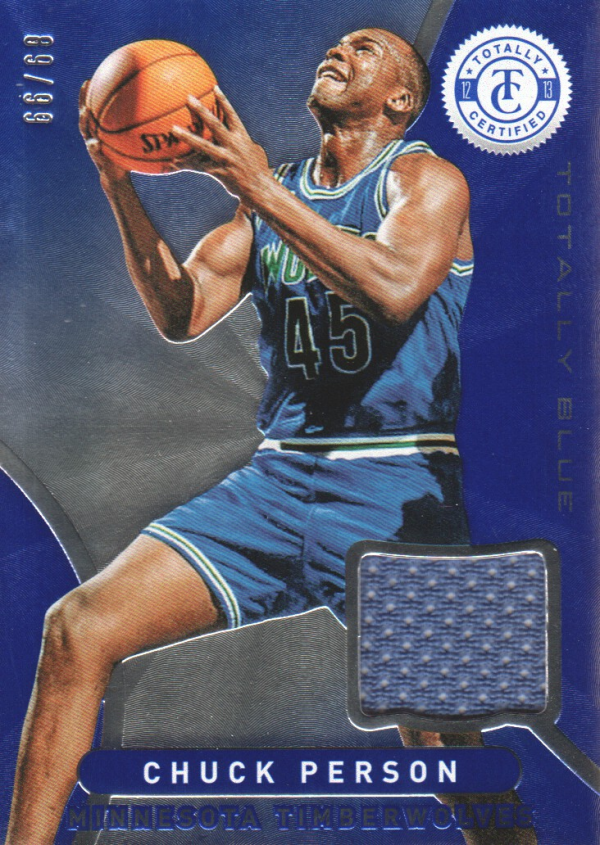 2012-13 Totally Certified Blue Materials #112 Chuck Person/99