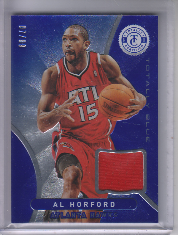 2012-13 Totally Certified Blue Materials #119 Al Horford/99