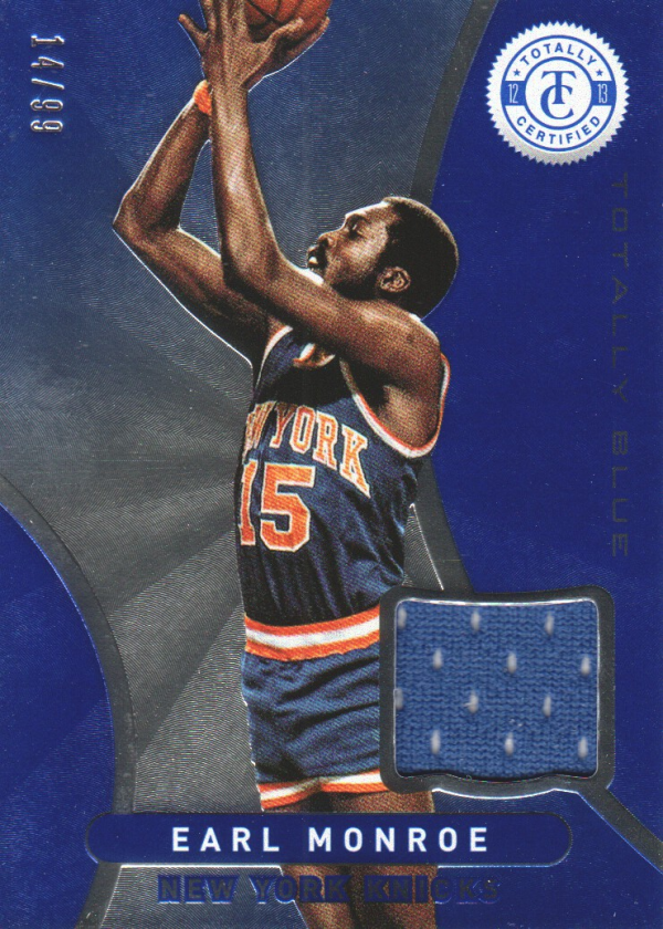 2012-13 Totally Certified Blue Materials #121 Earl Monroe/99