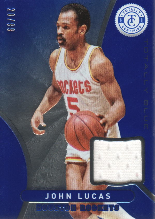 2012-13 Totally Certified Blue Materials #142 John Lucas/99