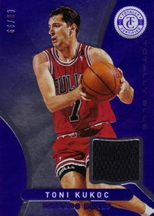 2012-13 Totally Certified Blue Materials #181 Toni Kukoc/99