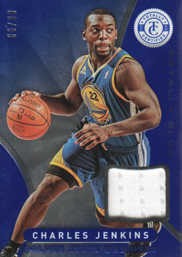 2012-13 Totally Certified Blue Materials #187 Charles Jenkins/99