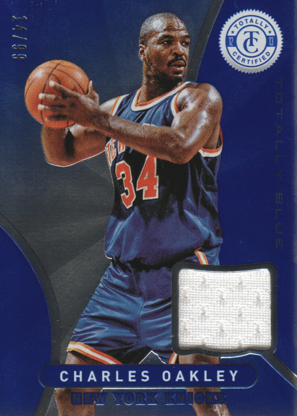 2012-13 Totally Certified Blue Materials #199 Charles Oakley/99