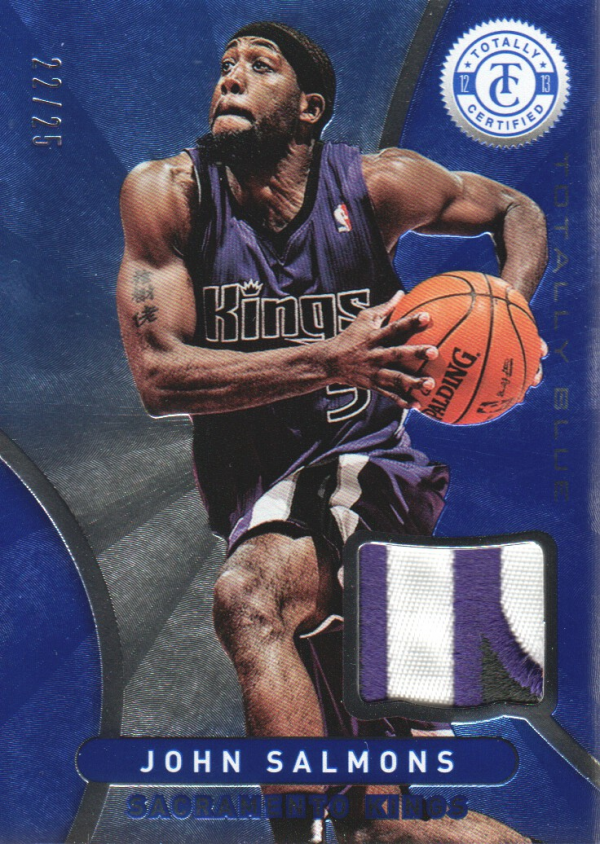 2012-13 Totally Certified Blue Materials Prime #26 John Salmons/25