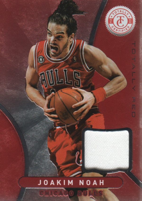 2012-13 Totally Certified Red Materials #23 Joakim Noah