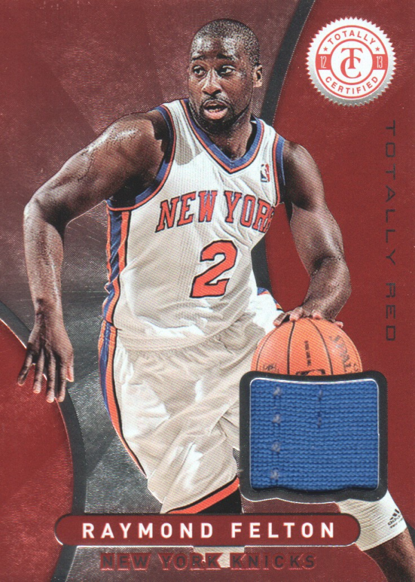 2012-13 Totally Certified Red Materials #45 Raymond Felton